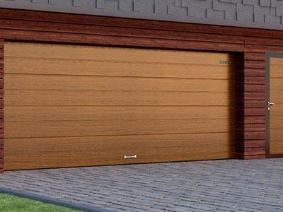 Гаражные секционные ворота: тепло или миф?