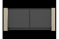 Откатные ворота Prestige 3700х2000
