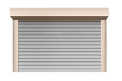 Ролл ворота ALUTECH 2500x2750 мм