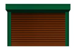 Ролл ворота ALUTECH 2750x2500 мм