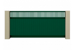 Откатные ворота Prestige 4100х2000
