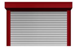 Ролл ворота ALUTECH 2750x2750 мм