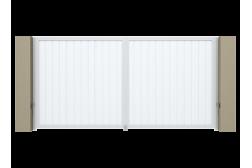 Распашные ворота Alutech Prestige 3900х2000