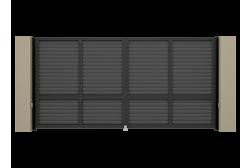 Распашные ворота Alutech Prestige 3100х2000