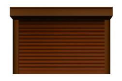 Ролл ворота ALUTECH 2500x2500 мм