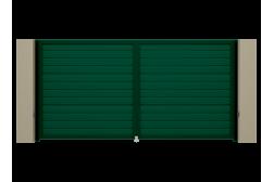 Распашные ворота Alutech Prestige 3200х2000