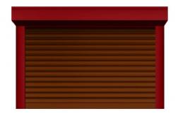 Ролл ворота ALUTECH 2750x2250 мм