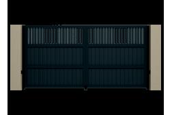 Распашные ворота Alutech Prestige 4100х2000