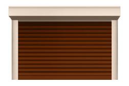 Ролл ворота ALUTECH 2500x2250 мм