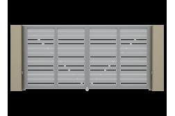 Заполнение алюминиевым профилем