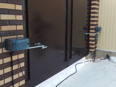 Комплект для автоматизации распашных ворот