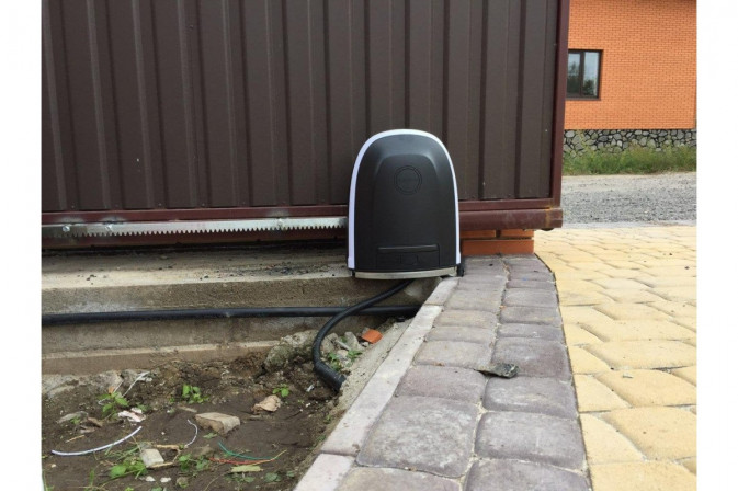 Alutech RTO-1000KIT автоматика для откатных ворот