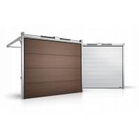 Гаражные секционные ворота серии Alutech Prestige 6000x3250