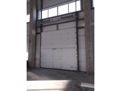 Промышленные секционные ворота Alutech ProTrend