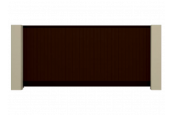 Откатные ворота Prestige 3000x2100