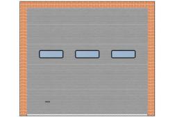Панорамные ворота ProPlus 3000x2700