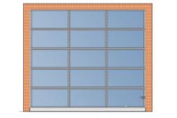 Панорамные ворота AluTherm 3000x2700