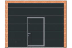 Секционные ворота ProPlus 3500х2750