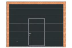 Секционные ворота ProTrend 3500х2800